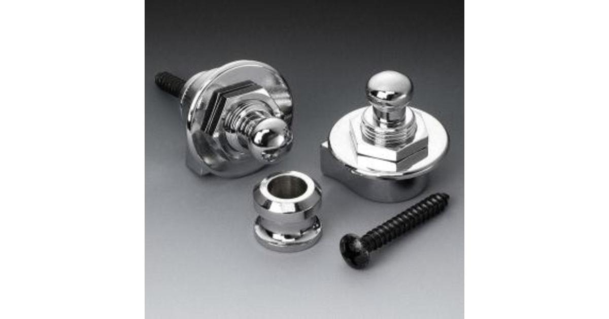 Schaller 14010301 Security Lock Крепление для ремня с блокировкой, для гитары