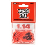 9194 Ernie Ball Everlast Picks Red 1.14mm - kytarová trsátka 1ks