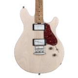Sterling by MusicMan Valentine Guitar JV60, Trans Buttermilk barva, Roasted Maple Neck