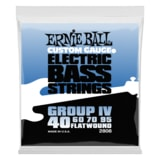 2808 Ernie Ball Flatwound Bass Group IV .040 - .095