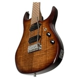Sterling by MusicMan John Petrucci JP15 7-string, Flamed Maple Top, Island Burst