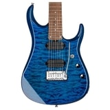 Sterling by MusicMan John Petrucci JP15 7-string, Quilted Maple Top, Roasted Maple Neck, Neptune Blue