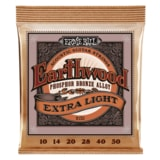 2150 Ernie Ball Earthwood Extra Light Phosphor Bronze - Extra Slinky Acoustic  .010 - .050