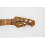 MusicMan Valentine Guitar, Trans Buttermilk, Roasted Maple Neck