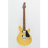 MusicMan Valentine Guitar, Saturn Gold, Roasted Maple Neck
