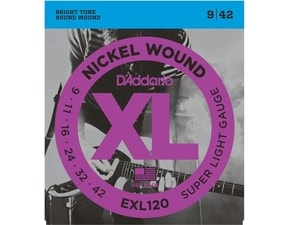 D´Addario EXL 120 Super Light - 9 / 42