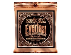 2550 Ernie Ball Everlast Phosphor Bronze - 10 / 50
