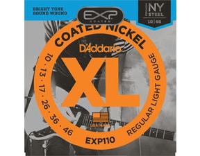D'ADDARIO EXP110 Coated NY Steel - 10 / 46