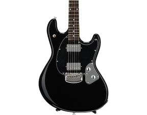 MusicMan StingRay HH Guitar, Black