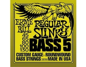 2836 Regular Slinky 5-string Bass Nickel Wound .045 - .130