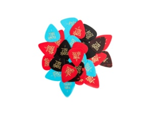 9170 Ernie Ball Thin Assorted Color Guitar Picks, Bag of 24
