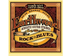 2008 Earthwood Rock & Blues .010 - .052 Acoustic 80/20 Bronze w/ plain G