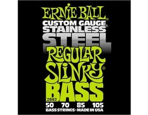 2842 Stainless Steel Regular Slinky Bass .050 - .105