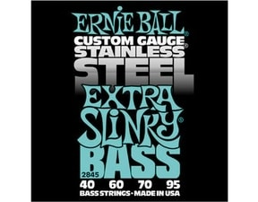 2845 Stainless Steel Extra Slinky Bass .040 - .095