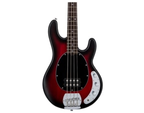 Sterling SUB Ray4 Ruby Red Burst - Temně červený burst