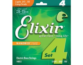 Elixir Bass Nanoweb Light / 45 - 100 /