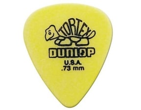 Dunlop Tortex 0.77mm - žlutá