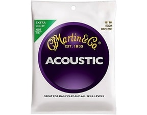 Martin M170 Traditional 80/20  Bronze Extra Light gauge 10 / 47 - struny na akustickou kytaru