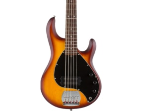 Sterling SUB Ray5 Honeyburst Satin, Rosewood Fretboard