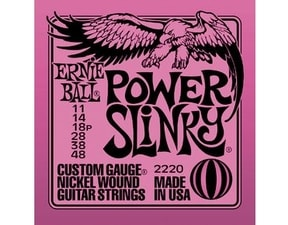 2220 Power Slinky Nickel Wound .011 - .048 Purple Pack