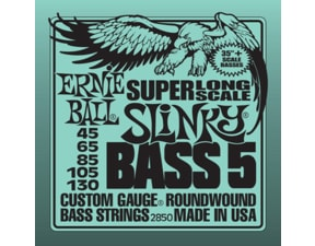 2850 Slinky Super Long Scale Bass5 .045 - .130
