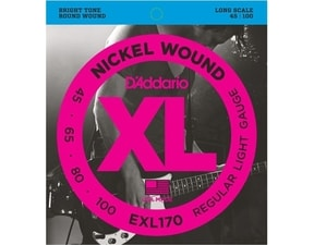 D´Addario EXL170-5 Nickel Wound Long Scale Bass Custom Light 5-String .045-.130 struny na basovou kytaru