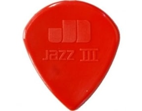 Dunlop Jazz III Nylon XL 1.38mm - červená
