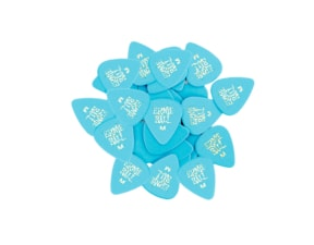 9116 Ernie Ball série SIDEMAN Medium 0.72mm Blue Cellulose Pick - modré, medium, celuloidové trsátko 1 Ks