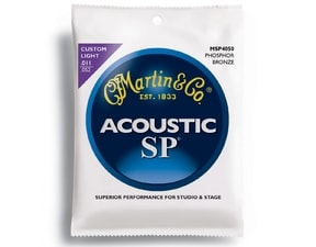 Martin MSP4050 SP 92/8 Phosphor Bronze Custom Light gauge 11 / 52 - struny na akustickou kytaru