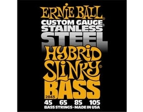 2843 Stainless Steel Hybrid Slinky Bass .045 - .105