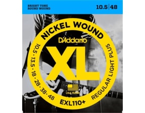 D'ADDARIO EXL110+ Regular Light - .010.5 - .048