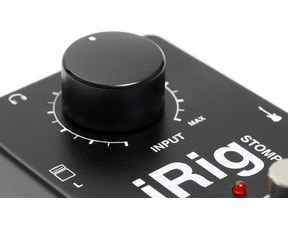 IK Multimedia iRig Stomp - StompBox pro iPhone/Pad/Pod