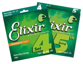 Elixir Bass Nanoweb Super Light 5 str. / 40 - 125 /