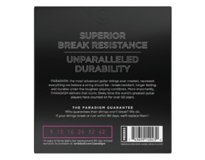 2023 ERNIE BALL PARADIGM SUPER SLINKY .009 -.042  ELECTRIC GUITAR  STRINGS