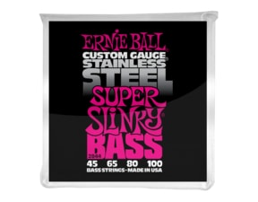 2844 Ernie Ball Stainless Steel Super Slinky Bass .045 - .100