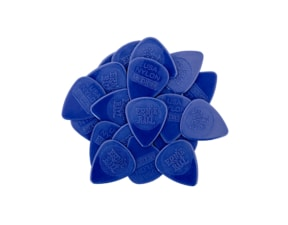 9131 Ernie Ball Nylon Blue Picks Medium 0.72mm - 1ks trsátko