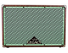 "Carvin Box C212GE model Legacy Steve Vai, 2x12"" Celestion V30, Green Grille"