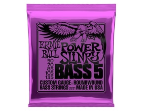 2821 Power Slinky 5-string Bass Nickel Wound .050 - .135