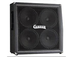 "Carvin Box GX412T 4x12"" Carvin GT12 speakers - slant, closed back"