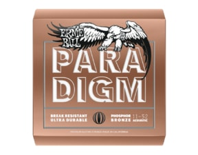 2078 ERNIE BALL PARADIGM LIGHT PHOSPHOR BRONZE .011 -.052  ACOUSTIC GUITAR STRINGS