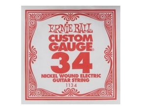 1134 Ernie Ball .034 NICKEL WOUND Single String 1ks