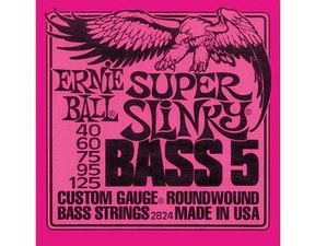 2824 Super Slinky 5-string Bass Nickel Wound .040 - .125