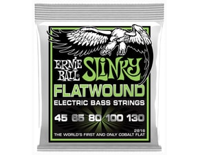 2816 Ernie Ball Regular Slinky Flatwound Cobalt 45/130