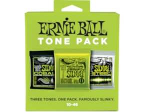 3331 Ernie Ball Regular Slinky Electric Strings 3-pack(Slinky, Cobalt, M-Steel) .010-.046