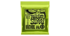 2221 Regular Slinky Nickel Wound .010 - .046 Lime Pack