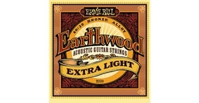 2006 Earthwood Extra Light .010 - .050 Acoustic 80/20 Bronze