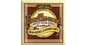 2051 Earthwood Silk & Steel 12-string Soft .009 - .046 Acoustic 80/20 Bronze