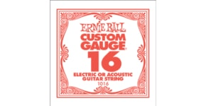 1016 .016 Electric Plain Single String