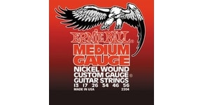 2204 Medium Electric Nickel Wound .013 - .056 w/ wound G