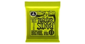 3221 Nickel Regular Slinky  Electric Guitar Strings 3 Pack